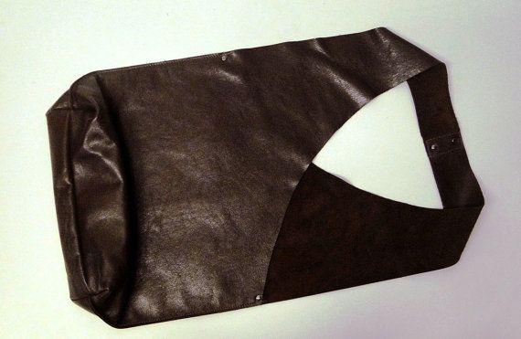 Shoulder Handbag Handmade In Chocolate Brown by JPRESTONHANDBAGS