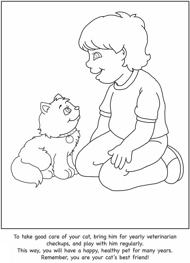 How to Care for Your Cat: A Color & Learn Guide for Kids