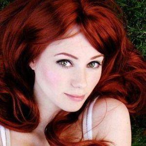 Mooi rood haar