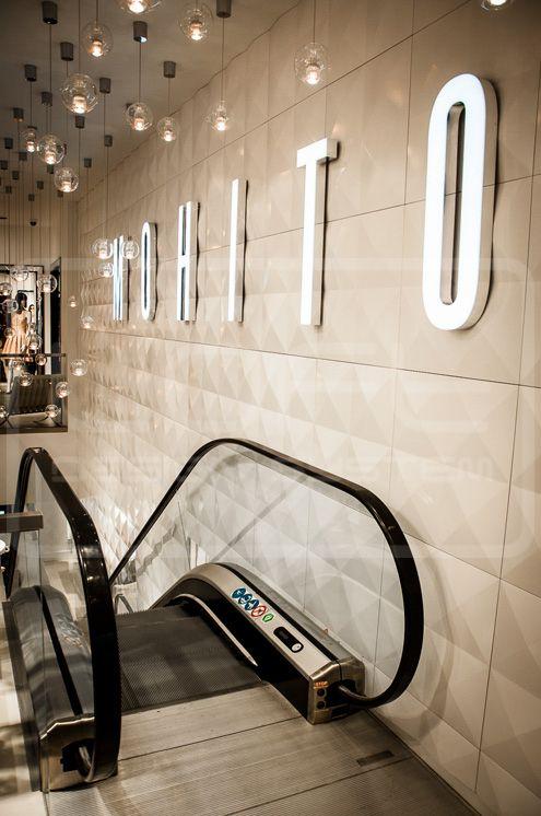 Decorative Panels 3D - Loft Design System - Model 09 - DIAMONDS. Three dimensional panels, high gloss LOFTSYSTEM in MOHITO!
