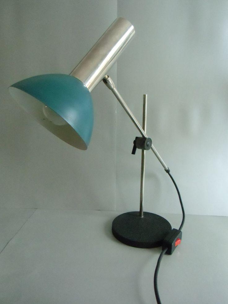 Klassische 70er Jahre - Tischlampe