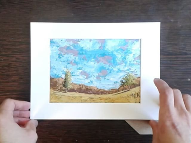 "34 Likes, 1 Comments - Tudorache George Daniel (@tudorache_george_daniel) on Instagram: ""Framing my new painting ""Golden Lands""  YouTube timelapse and story of the painting:…"""