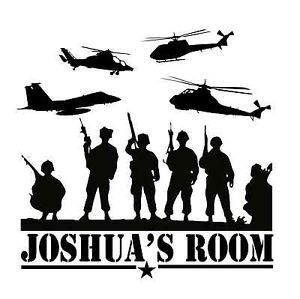 Personalized Custom Army Marines Navy Vinyl Wall Decal Boys Bedroom Military 05 | eBay