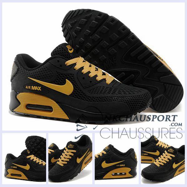 nike air max tn chaussures hommes noir jaune 2020