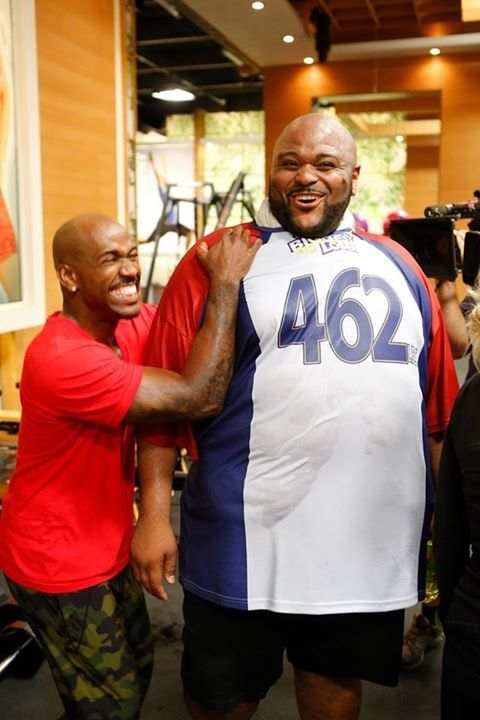 Good morning @RubenStuddard & @Dolvett Quince  Love u both & LOVE this pix @biggestlosernbc