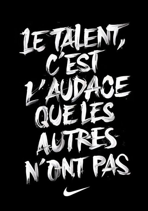 talent. #quotes, #citations, #pixword