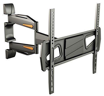 RICOO Fernsehhalterung S0944 Wandhalterung TV Schwenkbar Neigbar Halterung Wandhalter LED LCD Flachbild-Fernseher 76-140cm/30-42-50-55 Zoll