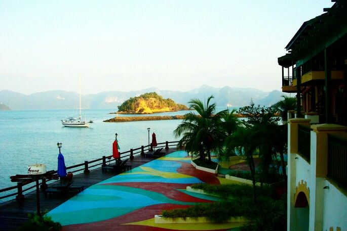 blissful..view from our hotel at lankawi