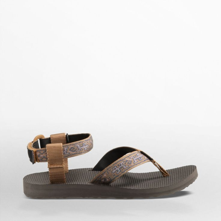 Women's Original Sandal in Old Lizard Brown · Teva ...