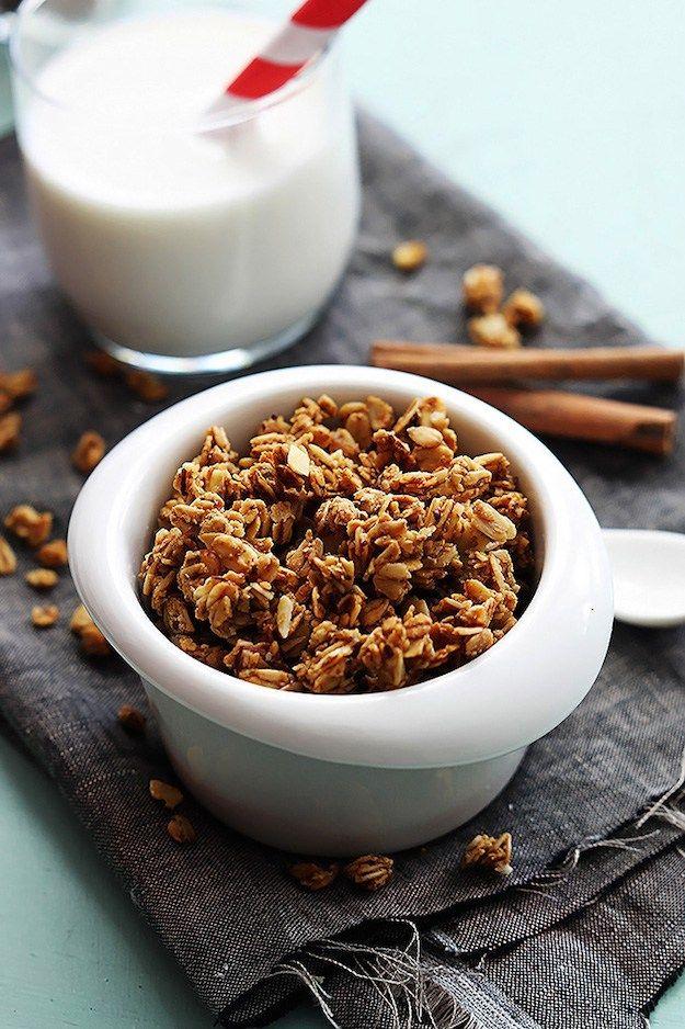 7 recetas de granola casera que no te puedes perder