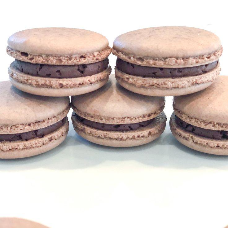Chocolate macarons in 2020 macarons homemade cakes