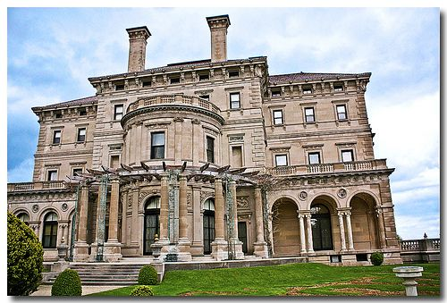 The Vanderbilt estate - The Breakers, Newport, RI.