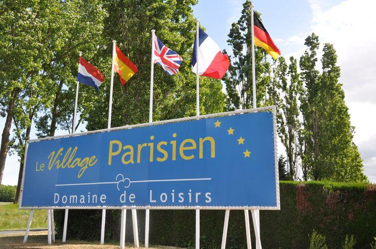 Camping**** Le Village Parisien - Varreddes #Camping #Paris #IledeFrance