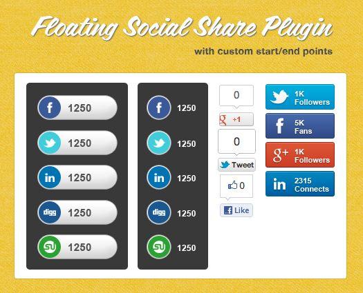 jQuery Floating Social Share Plugin: floatShare   EGrappler http://egrappler.com/jquery-floating-social-share-plugin-floatshare/