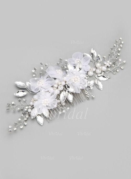 Headpieces - $17.83 - Alloy/Imitation Pearls/Silk Flower Headpiece (0425063058)
