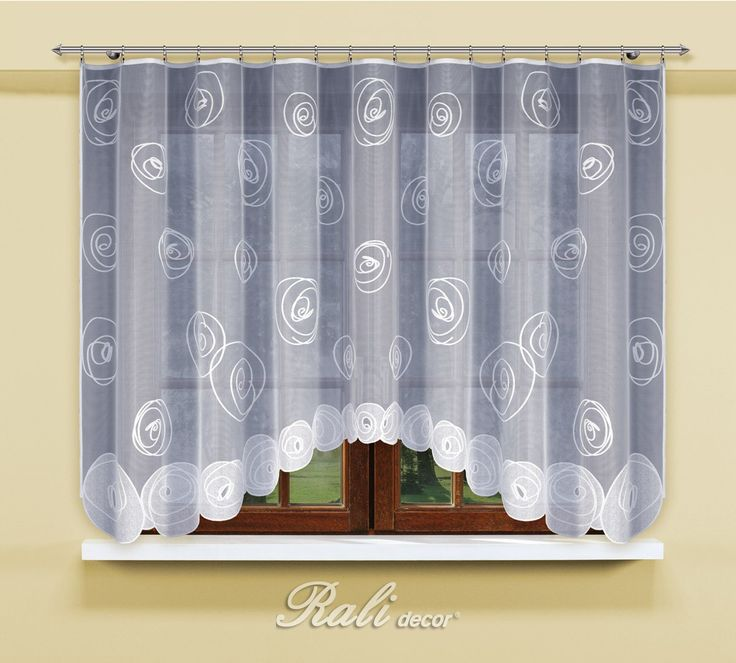 Valencia, kusová záclona šíře 300cm,výška 150cm - RALI Decor, s.r.o. - bytový…