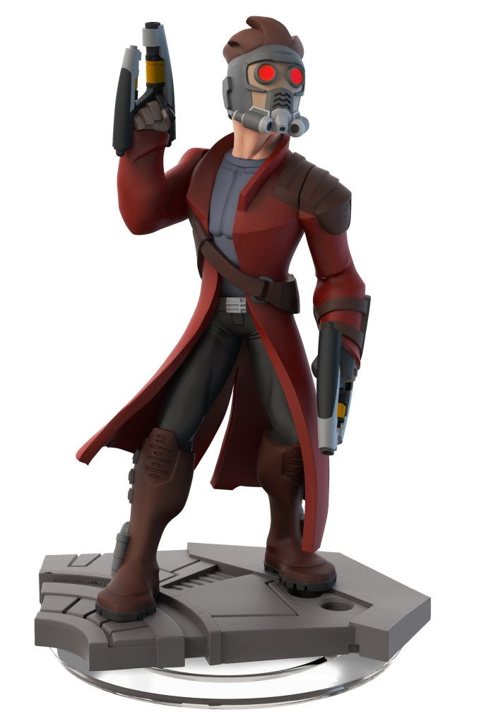 infinity characters. figurine star-lord - disney infinity france characters g