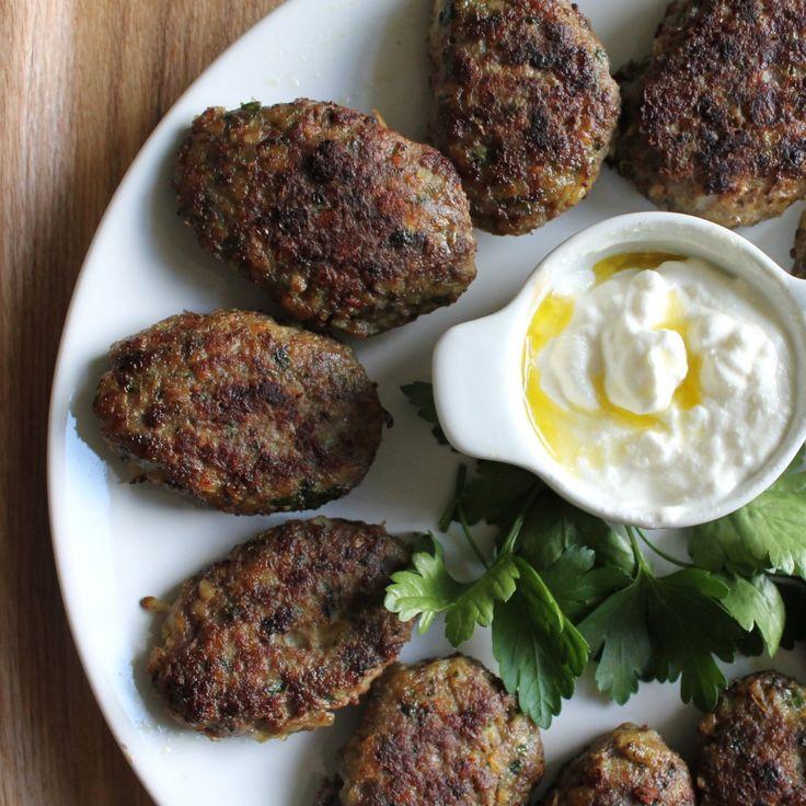 Maman's Kutlet: Persian Beef Cutlets with a serving of Maast o Khiar | Della Cucina Povera