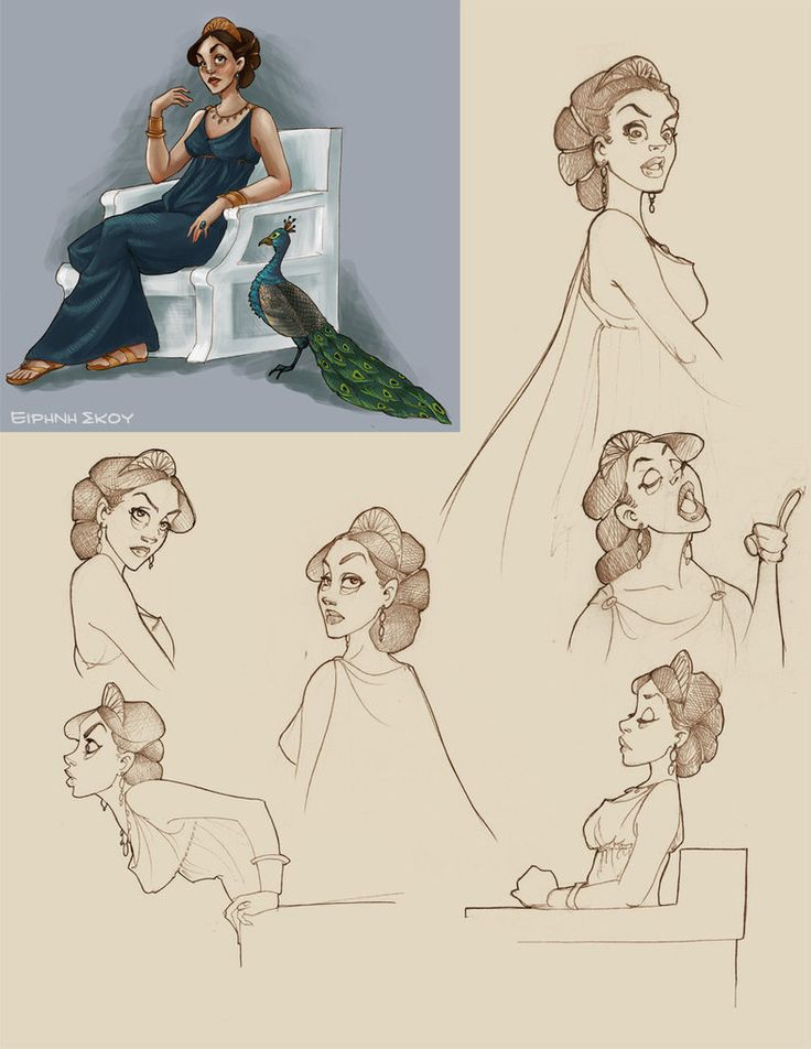 Hera doodles by Ninidu on deviantART