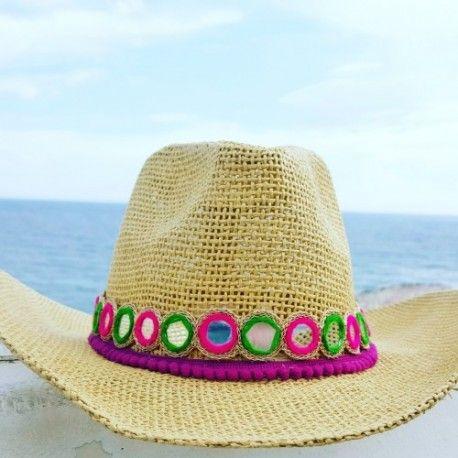 Sombrero mujer artesanal