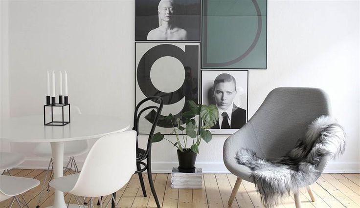 Mikkel Dahlstrøm - gennemført maskulin og nordisk stil på 63 m2 - billede 3