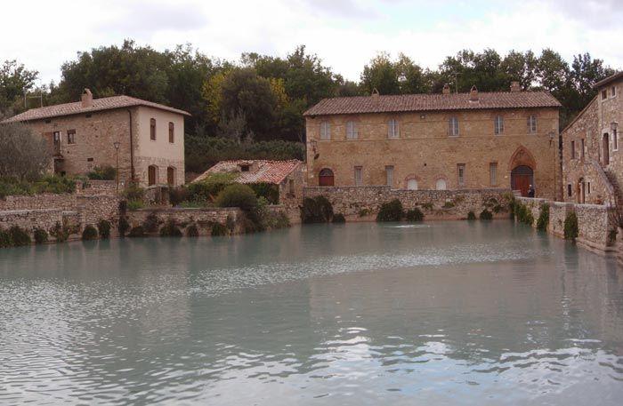 San Quircio dOrcia, Bagno Vignoni and Castiglione dOrcia, between M...