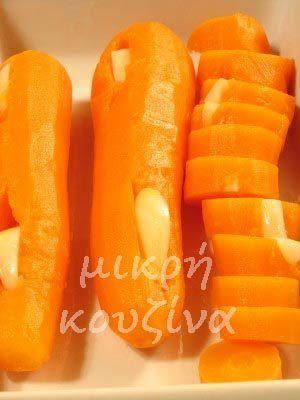 μικρή κουζίνα: Καρότο τουρσί