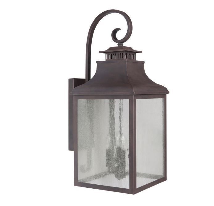 outdoor patio wall mount lamp porch light sconce exterior lighting fixture brnz #YDecor