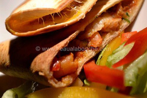 Quesadillas aux Crevettes - L'Eau à la Bouche
