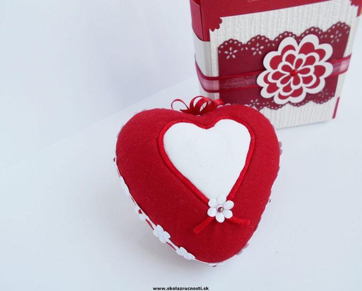 srdce polystyrén nešitý patchwork styro heart kimekomi Valentine´s, Mother´s Day