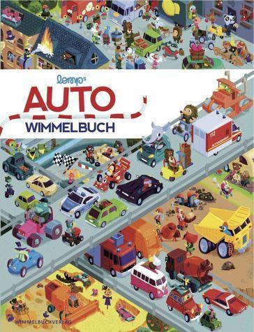 Auto Wimmelbuch - Lomp, Stephan