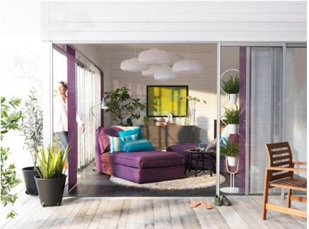IKEA Oturma Odası: Oturma odanız size mutluluk versin.
