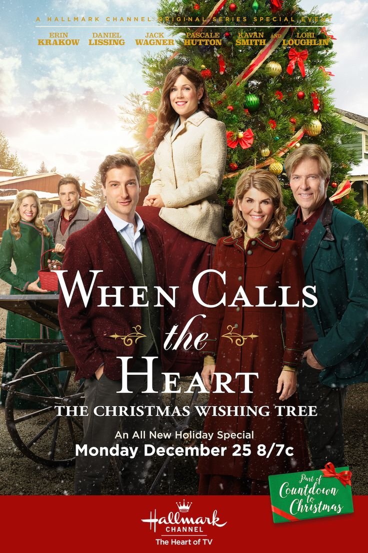 When Calls the Heart: The Christmas Wishing Tree - The tradition continues - Come back to Hope Valley on Christmas evening on Hallmark Channel. #Hearties #CountdownToChristmas #HallmarkChannel #WhenCallsTheHeart