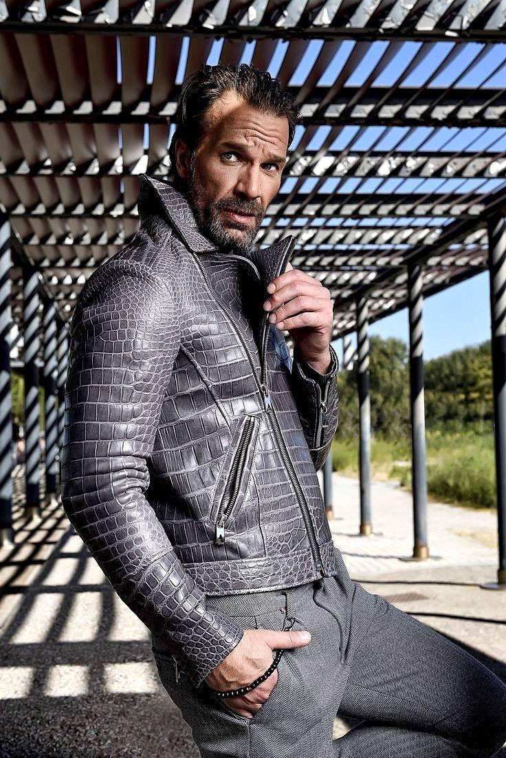 Casual Alligator Leather Motorcycle Biker Jacket For Men In 2021 Leather Jacket Men Well Dressed Men Turkey Fashion [ 1102 x 736 Pixel ]