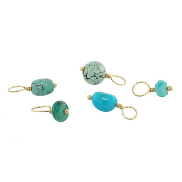 Reis-Nichols Jewelers : HEATHER MOORE December Turquoise Birthstone Charms