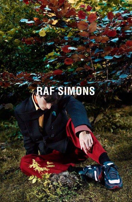 Raf Simons, Fall 2015 Campaign.