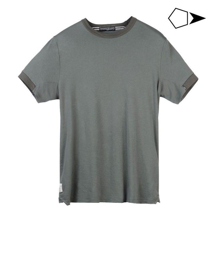 T-shirt maniche corte - Topwear Stone Island Uomo su Stone Island Online Store - Collezione Primavera-Estate Uomo. Spedizione in tutto il mondo.| 20814 CATEGORIA SKIN SS CREW NECK T INTERLOCK MAKO