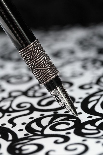 I love fountain pens, as a small child my father taught me to draw and write cursive in an art form His own style. He collected beautiful pens and that love carried over to me.