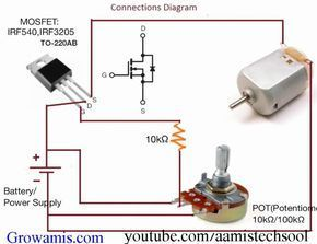 How to set a universal DC motor speed …