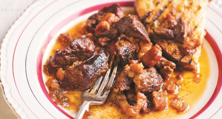Gennaro Contaldo's Tyrolean beef stew