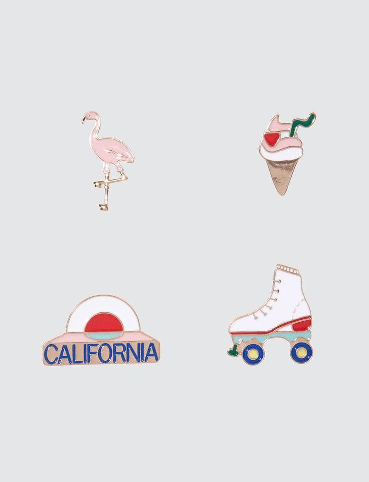 Set de Pins California