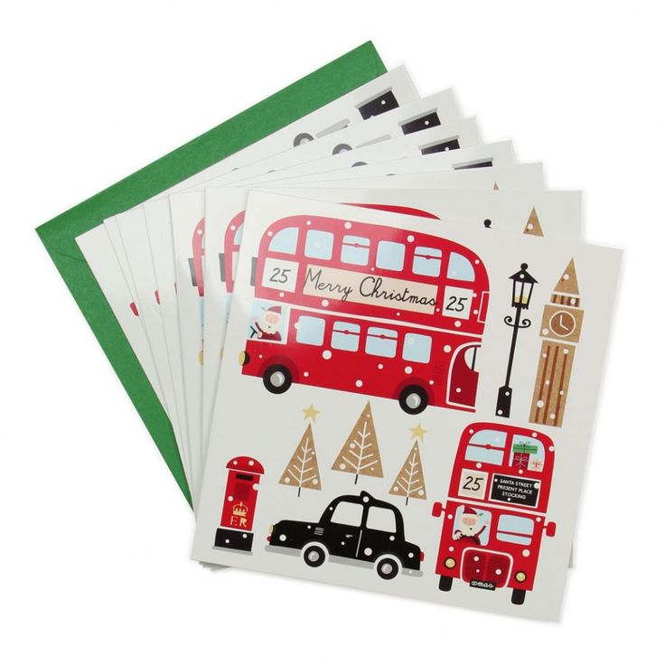 London Bus Charity Christmas Cards