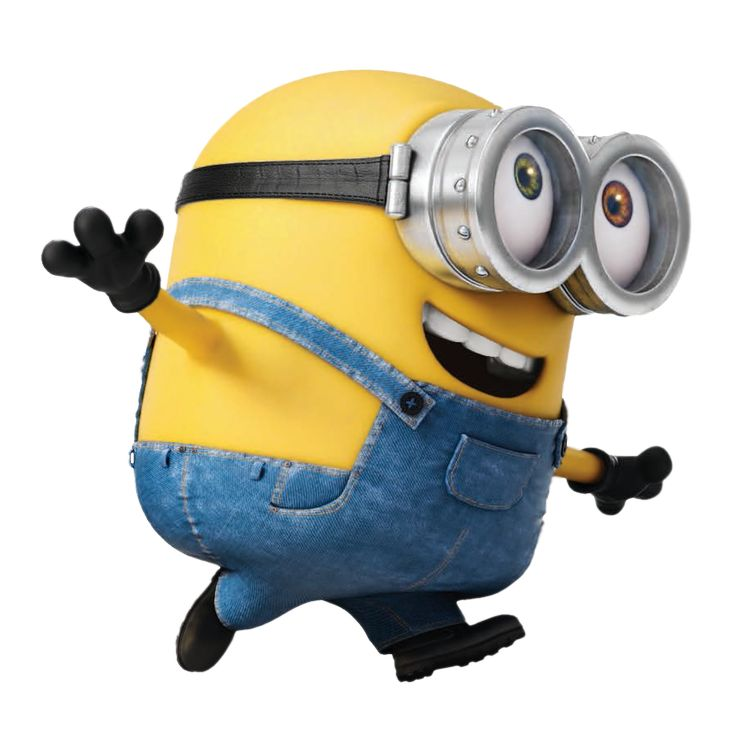 Transparent Minion Bob PNG Picture
