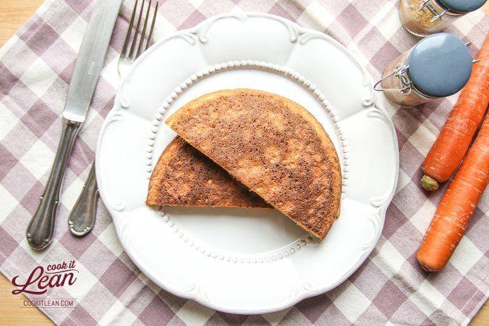 Omlet marchewkowo kokosowy