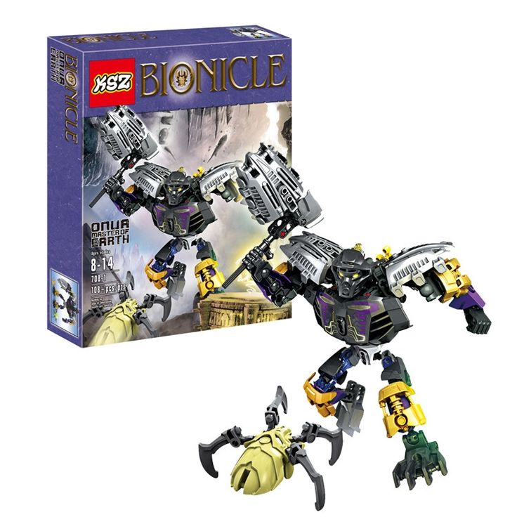 14.79$  Watch now - http://alicb8.shopchina.info/go.php?t=32373588520 - 2016 new Bionicle Onua Master of Earth Xsz 708-1 Figs Building Blocks Kids Toys Action Figure Enlighten Bricks Toys 14.79$ #buymethat