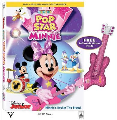 DVD Review & Giveaway Mickey Mouse Clubhouse * Pop Star Minnie* #Giveaway opened USA 2/2   QueensNYCMom
