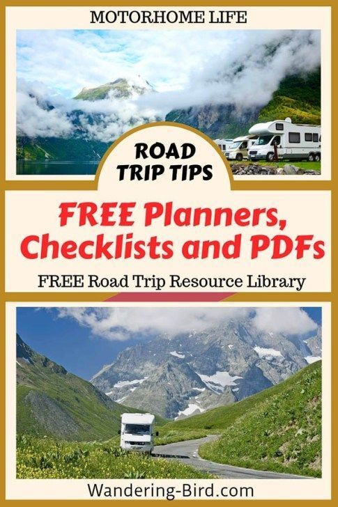 Free Checklists, guides and planning tools for YOU!! | Road