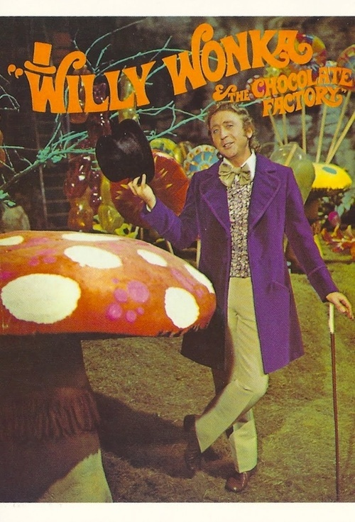 'Willy Wonka & The Chocolate Factory', 1971.  Memories are made of this at http://www.saveeverystep.com #nostalgia