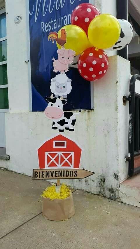 Resultado de imagen para granjas  infantiles para decorar