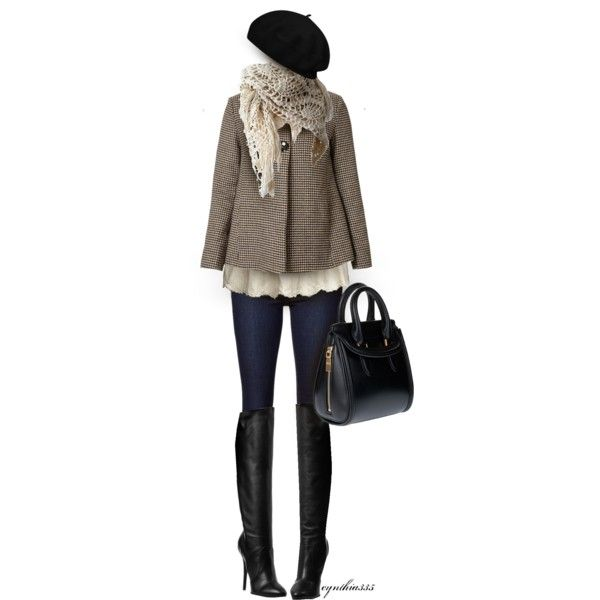 """Over the Knee Boots"" by cynthia335 on Polyvore"